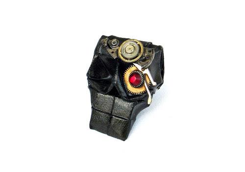 Origami-Steampunk-Skull