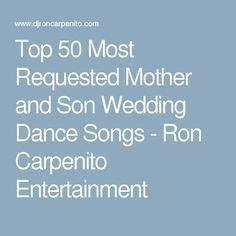 1000  ideas about Mother Son Wedding Dance on Pinterest
