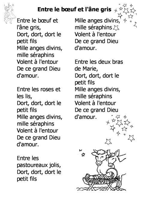 Chanson De Noel Etoile