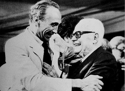 Sandro Pertini e Bearzot