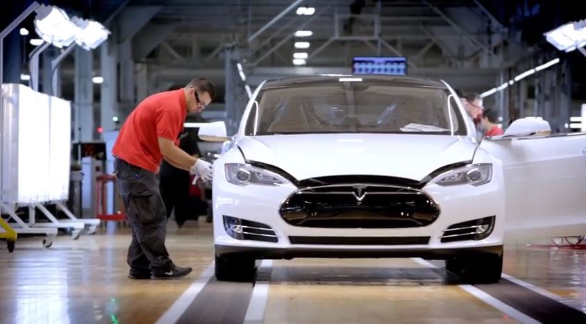 The Fremont Tesla factory employs about 3,000 people.