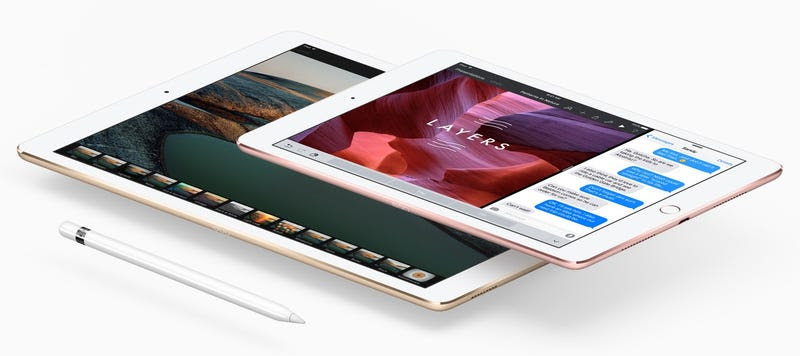"""El nuevo iPad Pro de 9,7"""" tiene la mitad de memoria RAM que la versión de 12,9 pulgadas"""