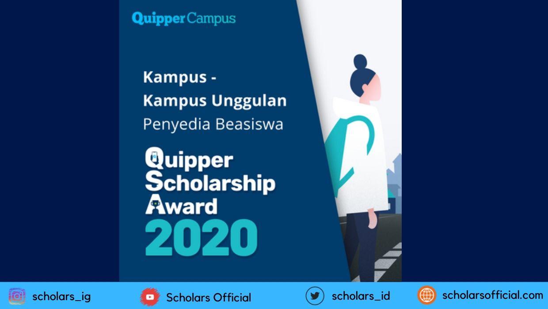 Beasiswa Quipper Scholarship Award untuk S1 Dalam Negeri ...