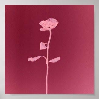 UNIQUE ROSE print