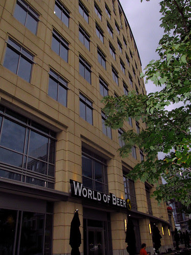 World of Beer, outside