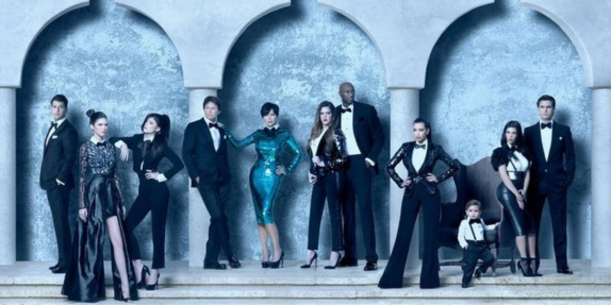 Image result for kardashian christmas cards