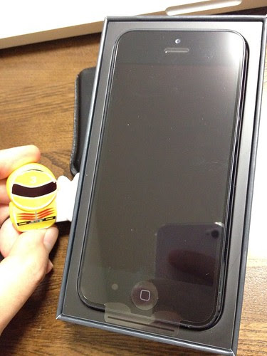 iPhone5 開封の儀