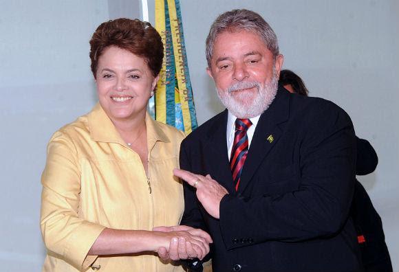 Dilma e Lula durante campanha eleitoral. Foto: Agência Brasil.