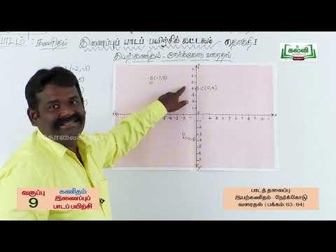 9th Maths Bridge Course இயற்கணிதம்  நாள் 5 & 6 Kalvi TV
