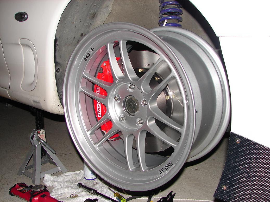 Test Fit Of My Rpf1 Stoptech Bbk Rx7club Com Mazda Rx7 Forum