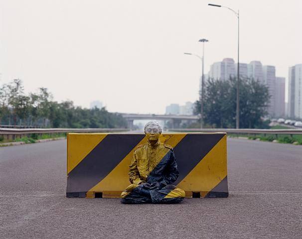 Liu Bolin, Road Stop