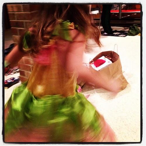 Princess twirl