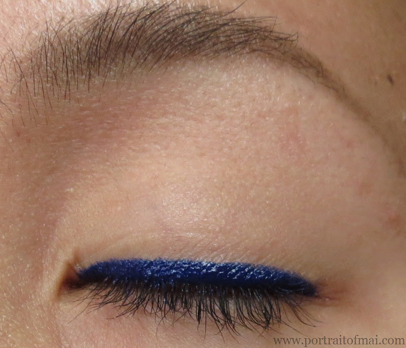 Makeup Geek Electric Gel Liner Swatch