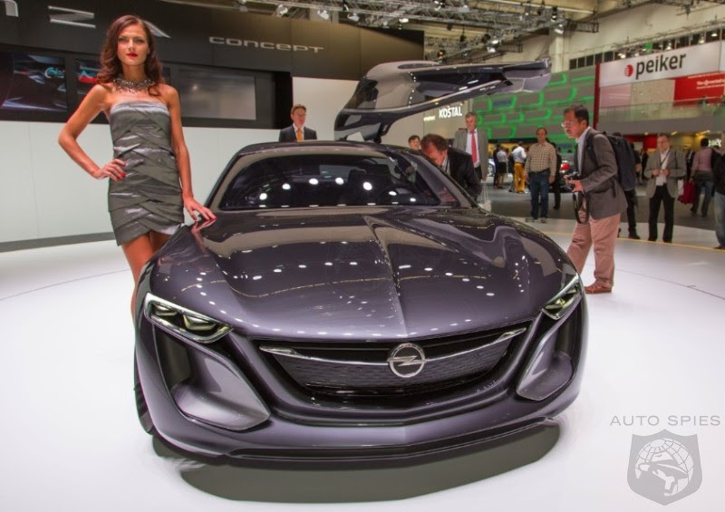 frankfurt motor show opel previews the future with its