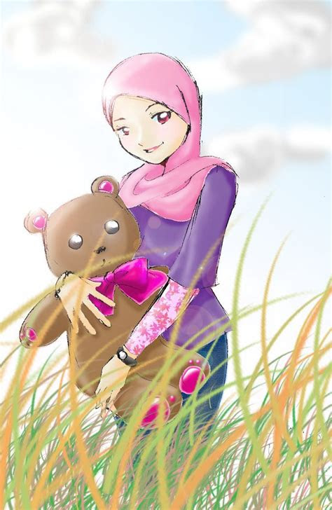 hijab cartoon images  pinterest hijab cartoon