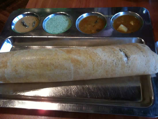 Kammadhenu - the best restaurant in Newtown, Sydney - Dosai Masala - Alison's Favourite