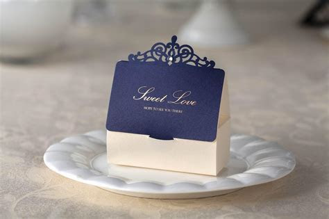 Wedding Favors Boxes Gift Boxes Candy Box Blue Party Favor