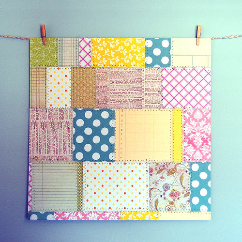 Scrapbook Paper From Scraps