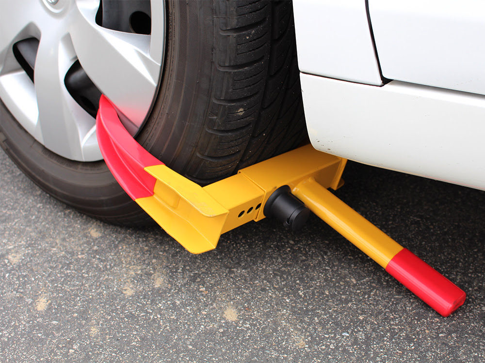 Wheel Lock Clamp Parking Boot Tire Claw Auto Car Truck Rv