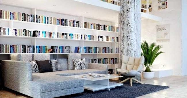 30 creative ideas how to make the library at home 1 1106702574