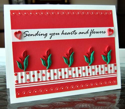 Quilled Valentine