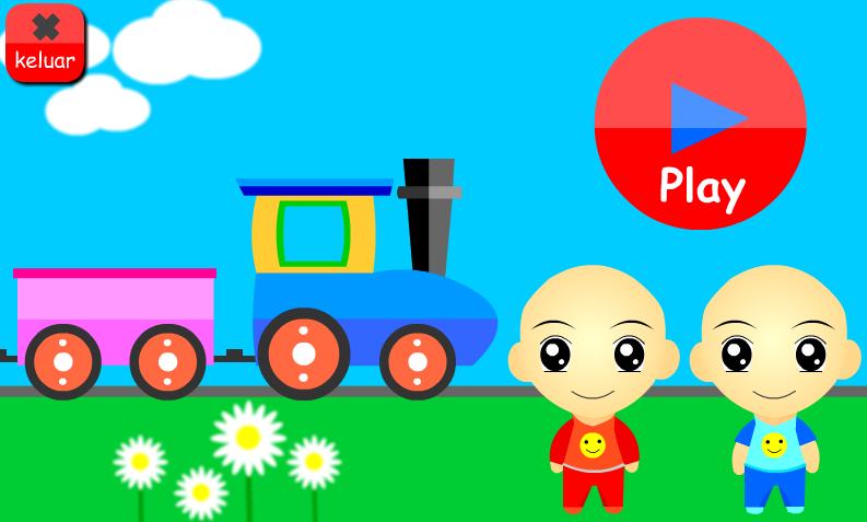 Kereta Api Kartun Berwarna Related Keywords Suggestions Kereta