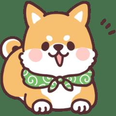 Lineスタンプころころ柴犬4 40種類 120円