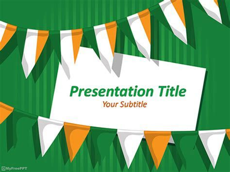 Free Indian Republic Day PowerPoint Template   Download