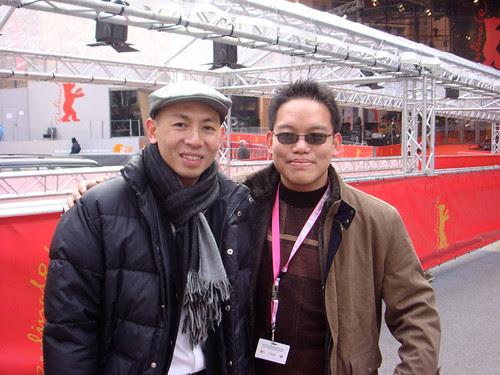 With Hong Kong filmmaker Dante Lam