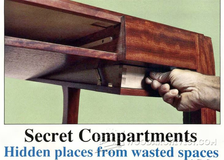 Woodworking Plans Secret Compartment Woodworking Project And Plans
