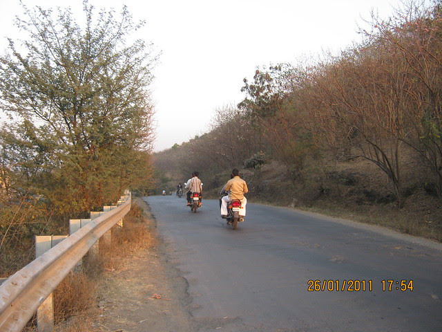 From Man to Baner Road - Megapolis on 26th January 2011