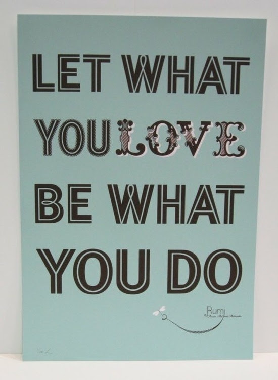 Motivation Monday: Let What You Love Be What You Do! | Running Rachel
