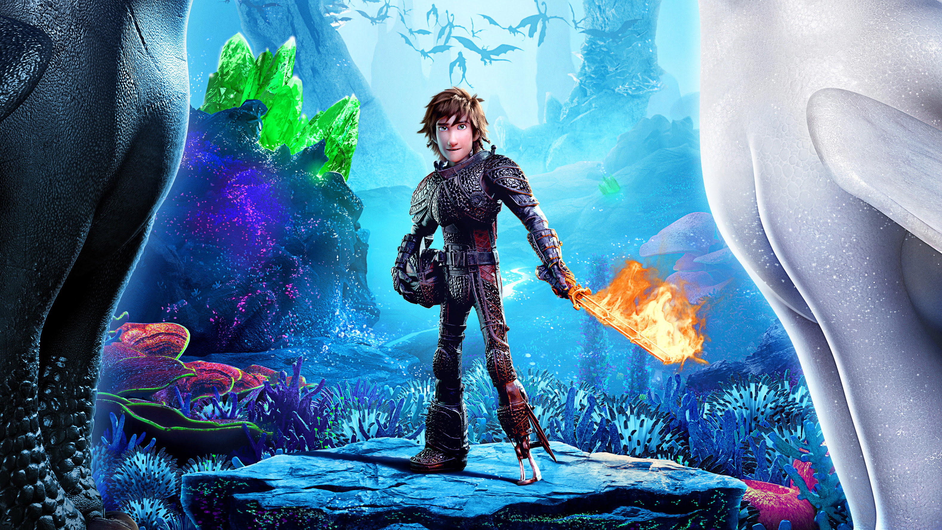 Hiccup How To Train Your Dragon 3 2019 4k Hd Movies 4k