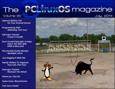 Περιοδικό PCLinuxOS Ιούλιος 2014