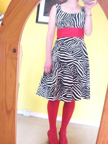 Zebra Sis Boom Jamie dress