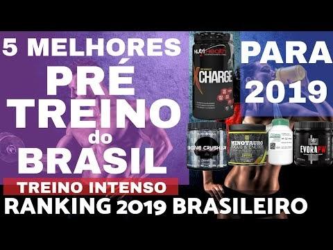 5 MELHORES PRÉ TREINOS do BRASIL para 2019 Ranking Brasileiro Melhor Disposição no Treino