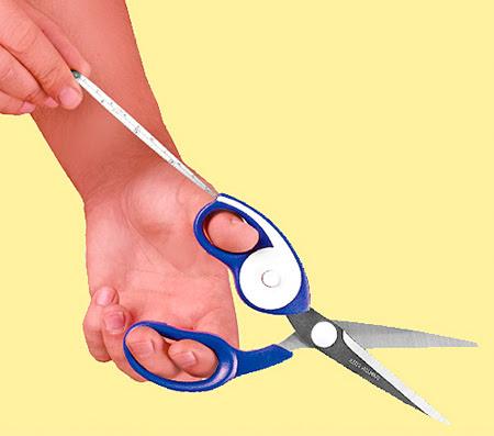 Measuring Tape Scissors