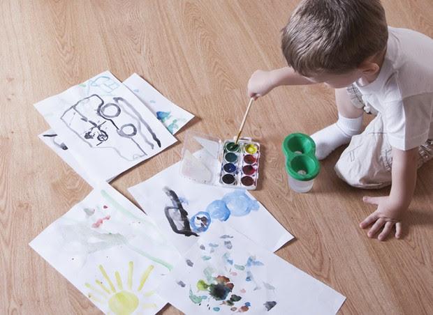 artes; desenho; pintura; criança (Foto: Thinkstock)