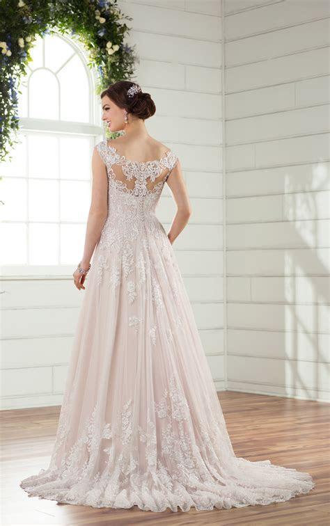 ESSENSE OF AUSTRALIA D2327 A LINE WEDDING DRESS