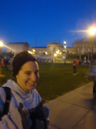 Philadelphia Marathon start