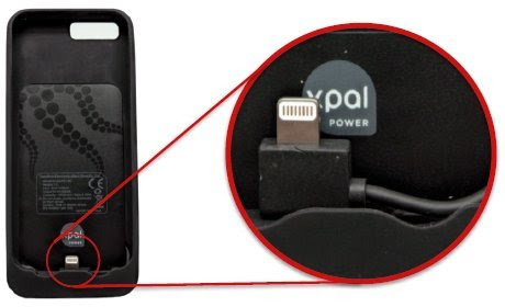 【世界同時発売!世界最速Apple認証取得】PowerSkin for iPhone5(iPhone5専用バッテリーケース)
