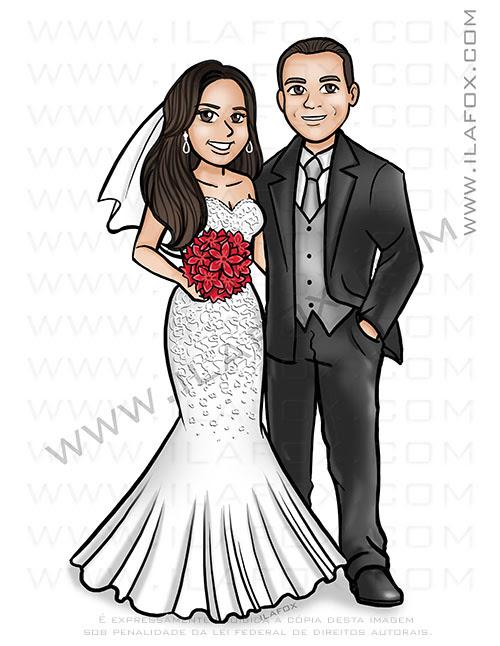 caricatura desenho, caricatura noivos, caricatura para casamento, caricatura sem exagero, caricatura noivinhos, by ila fox