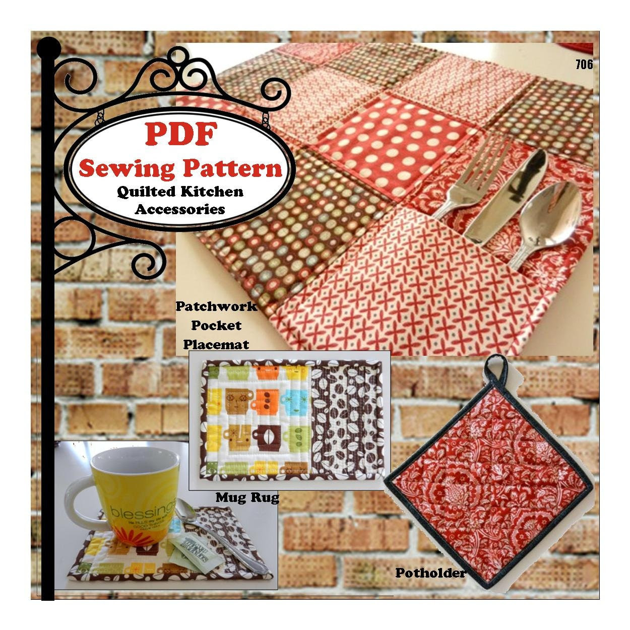Quilted Kitchen Accessories | Kitchens and Designs
