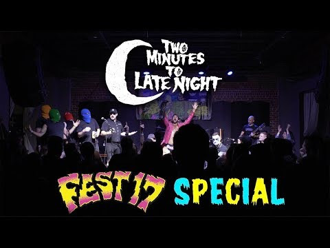 Masked Intruder On 'Two Minutes To Late Night: The Fest Special'