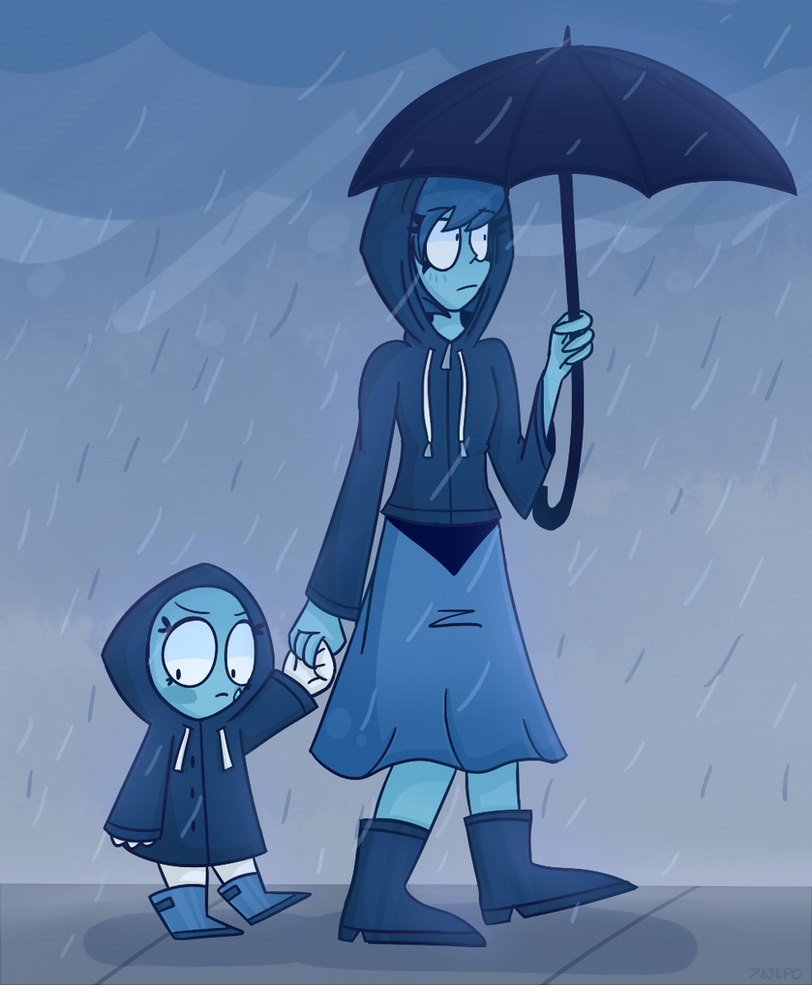 Although I believe it most likely possible that Lapis and Aquamarine will most likely fight, I like to think of their relationship to be more of a emo-older sister/bratty-little sister type. So I t...