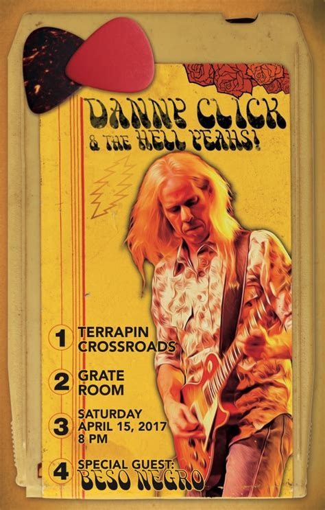 Danny Click & The Hell Yeahs!   Beso Negro opening at