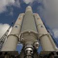 Ariane 5 enclosing Herschel and Planck