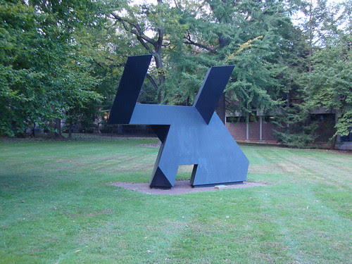 Sculpture in front of Prospect House
