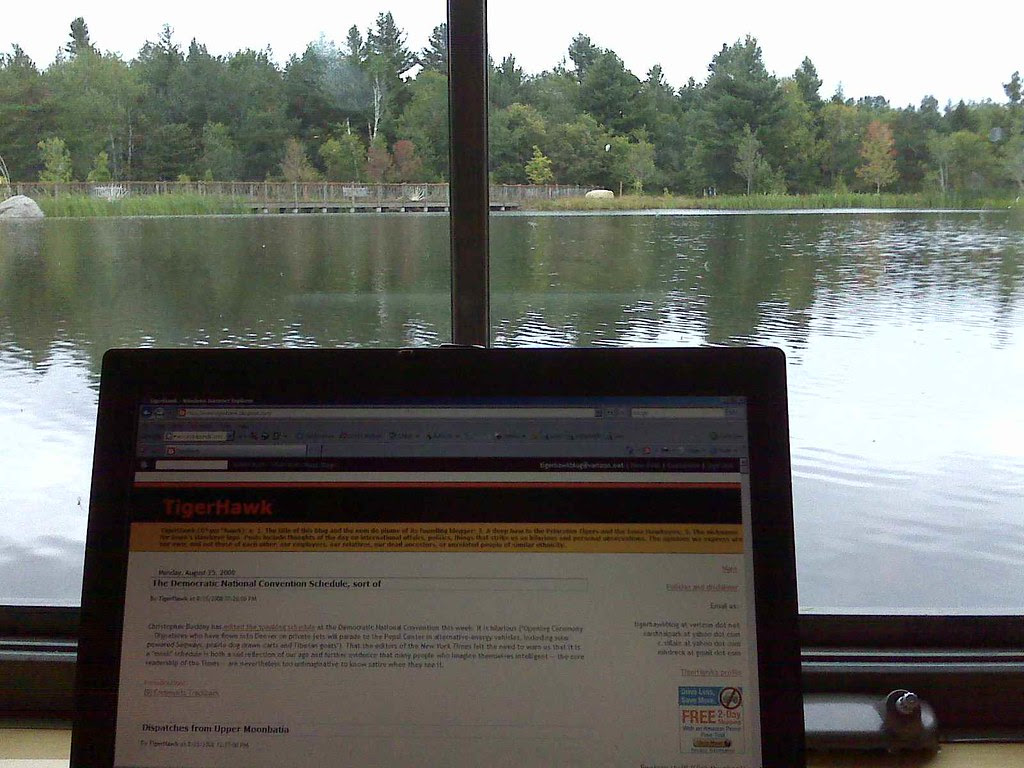 Blogging at the Wild Center