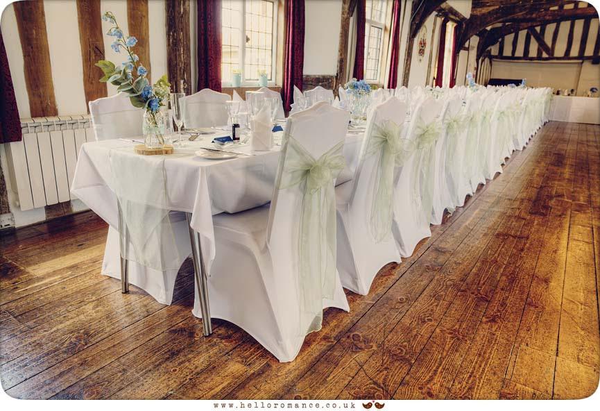 Vintage wedding table decorations - Hadleigh Wedding Photography Suffolk- Hello Romance